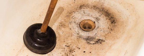 Drain cleaning and clogged drain lines