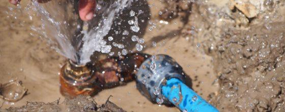 Water Leaks and Broken Water Pipe Repair